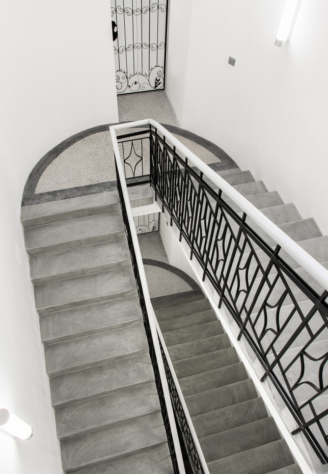 Nový stav schodiště